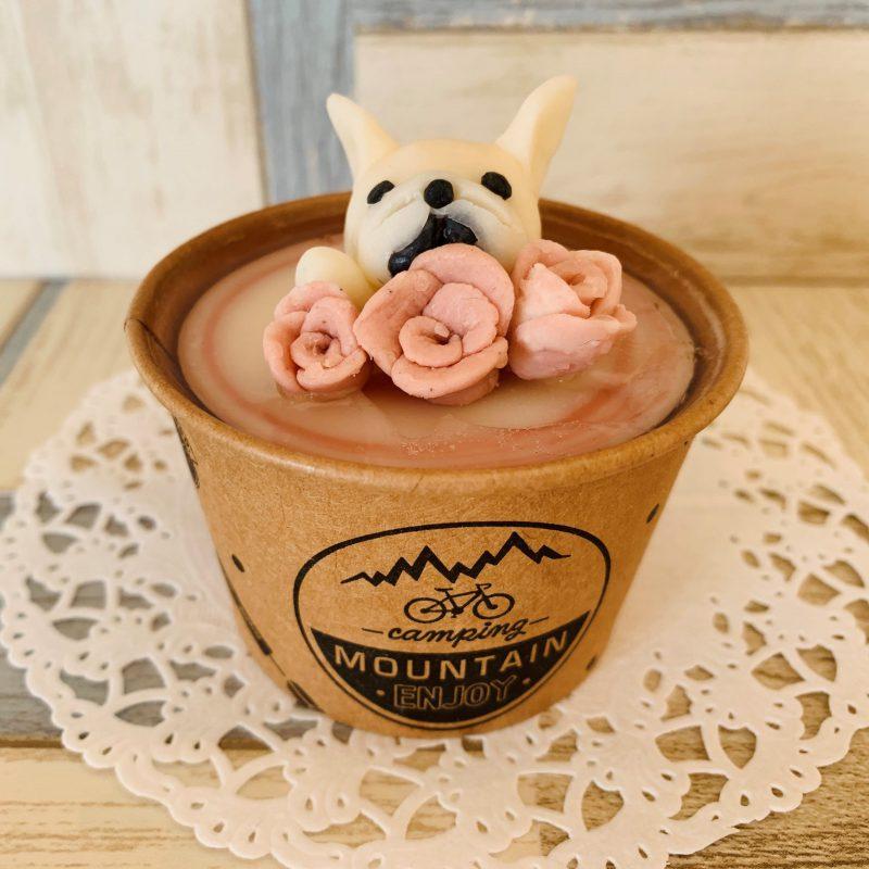愛犬のカップソープ